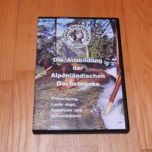 """DVD """"Die Ausbildung der Alpenländischen Dachsbracke"""""""